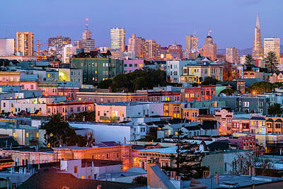 Photograph - San Francisco Cityscape by Judith Barath