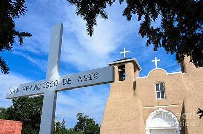 Photograph - San Francisco De Asis Church by Debra Martz