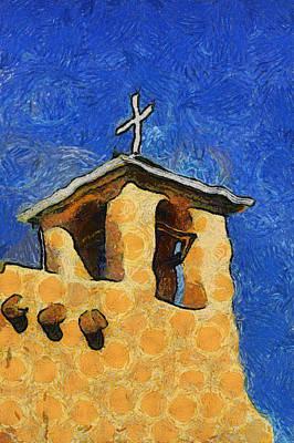 San Francisco De Asis Church In Ranchos De Taos Art Print by Mitch Tillison