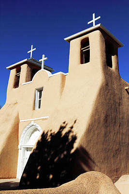 Photograph - San Francisco De Asis Front View by Nicholas Blackwell