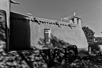 Photograph - San Francisco De Asis Mission Church 1 by Lou  Novick