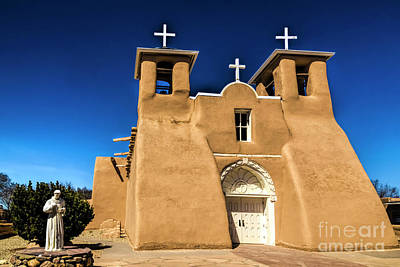 Photograph - San Francisco De Asis Mission by Jon Burch Photography