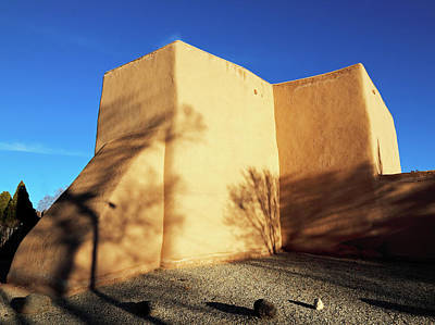Photograph - San Francisco De Asis Rear View by Nicholas Blackwell
