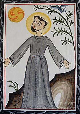 Painting - San Francisco De Asis - St. Francis Of Assisi - Aofda by Br Arturo Olivas OFS