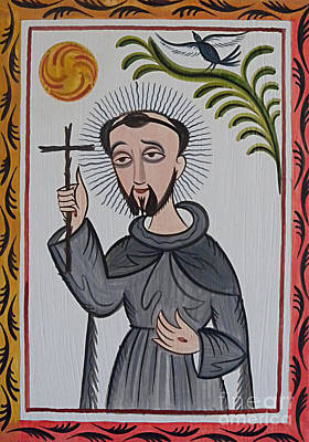 Painting - San Francisco De Asis - St. Francis Of Assisi - Aosaf by Br Arturo Olivas OFS