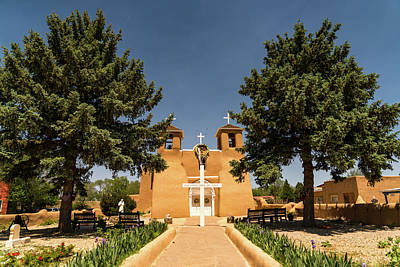 Photograph - San Francisco De Assisi Mission Church Taos New Mexico 2 by Lawrence S Richardson Jr
