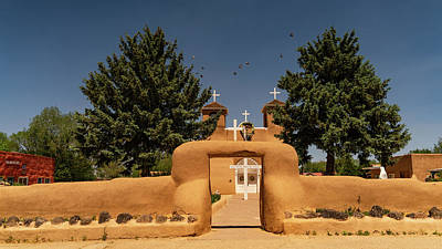 Photograph - San Francisco De Assisi Mission Church Taos New Mexico by Lawrence S Richardson Jr