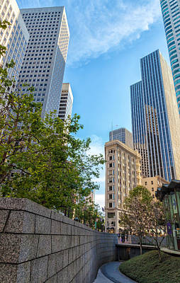 Photograph - San Francisco Downtown by Jonathan Nguyen