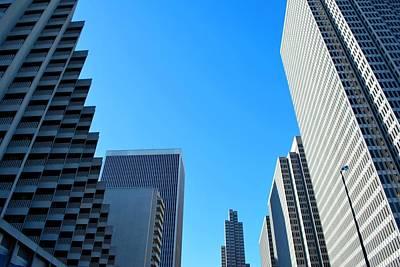 Photograph - San Francisco Embarcadero Skyscrapers by Matt Harang