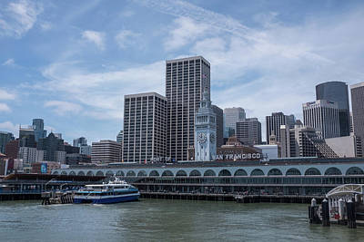 Photograph - San Francisco Ferry Terminal by Frank DiMarco