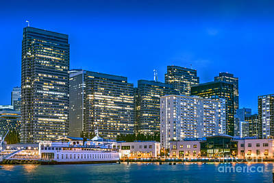 Photograph - San Francisco Financial District by David Zanzinger