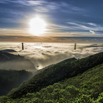 Photograph - San Francisco Floating On A Sea Of Fog by Jay Blackburn