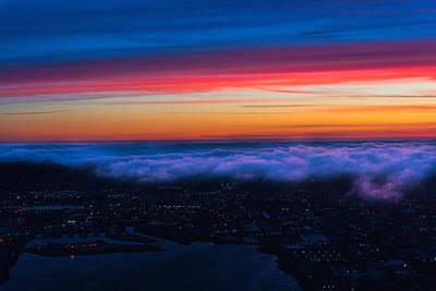 Photograph - San Francisco Fog by Braden Moran