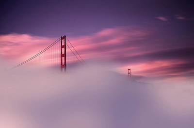Photograph - San Francisco Fog by Philippe Sainte-Laudy