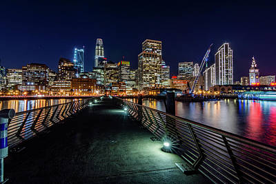 Photograph - San Francisco From Pier 14 by Jack Peterson