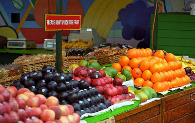 Photograph - San Francisco Fruit Stand by Frank Romeo