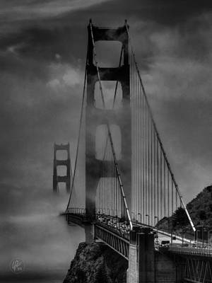 Photograph - San Francisco - Golden Gate Bridge 001 by Lance Vaughn