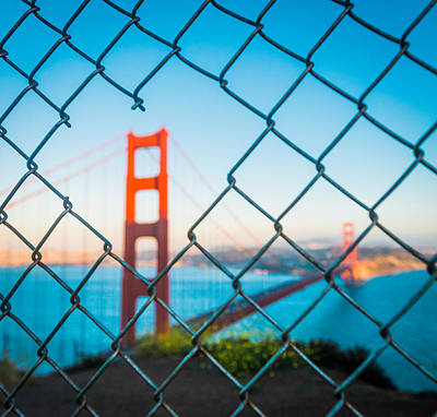 San Francisco Golden Gate Bridge Art Print by Cory Dewald