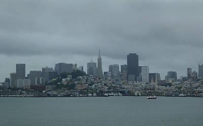 Alcatraz Photograph - San Francisco Gray by Gordon Beck