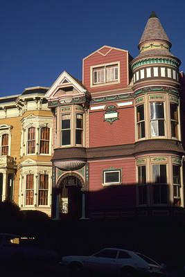 San Francisco Haight Ashbury - Photo Art Art Print