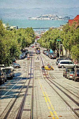 Photograph - San Francisco Hyde Street View by Gabriele Pomykaj