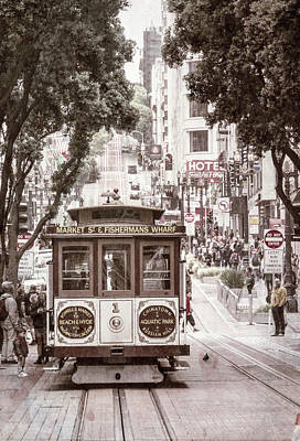 Photograph - San Francisco Icon by Alan Toepfer