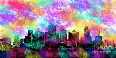 Photograph - San Francisco In Colors by Steven Parker