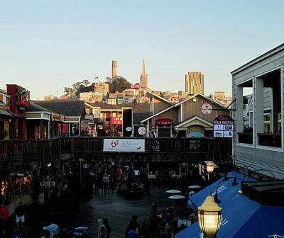 Photograph - San Francisco In The Sun by Tony Mathews