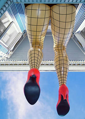 Photograph - San Francisco Legs - Haight Ashbury by David Smith