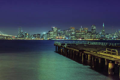San Francisco Lights Art Print