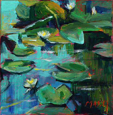 Golden Gate Park Painting - San Francisco Lily by Marie Massey