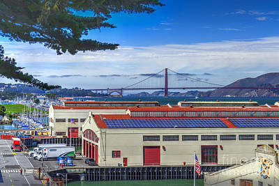 Photograph - San Francisco Marina Wharf Bridge by David Zanzinger