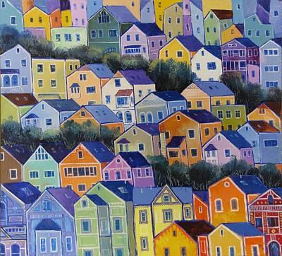 Painting - San Francisco by Mikhail Zarovny