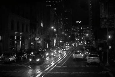 Photograph - San Francisco Night I Bw  by David Gordon