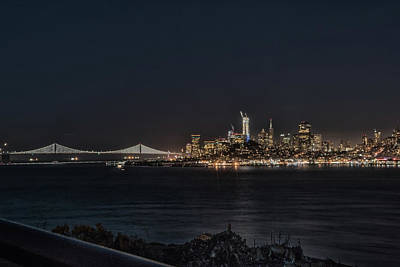 Photograph - San Francisco Night by Philip Rodgers