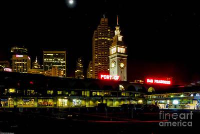 San Francisco Embarcadero Photograph - San Francisco Nights by Mitch Shindelbower