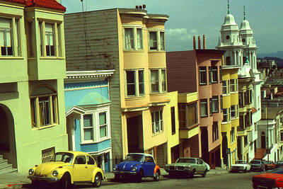 Photograph - San Francisco Nob Hill - Photo Art by Peter Potter