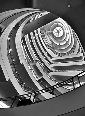 Photograph - San Francisco - Nordstrom Department Store Architecture by Carlos Alkmin