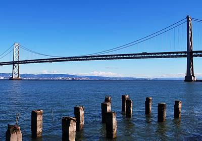 Photograph - San Francisco - Oakland Bay Bridge - Embarcadero View 2 by Matt Harang