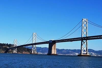Photograph - San Francisco - Oakland Bay Bridge - Embarcadero View 3 by Matt Harang