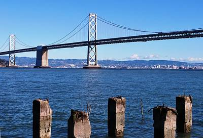 Photograph - San Francisco - Oakland Bay Bridge - Embarcadero View by Matt Harang