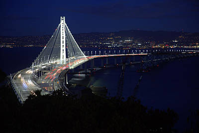 Photograph - San Francisco Oakland Bay Bridge by John King