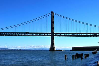 Photograph - San Francisco - Oakland Bay Bridge - Parallel View by Matt Harang
