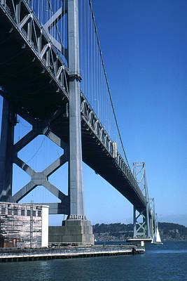 San Francisco Oakland Bay Bridge - Photo Art Art Print by Art America Online Gallery