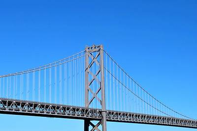 Photograph - San Francisco - Oakland Bay Bridge - Southern View Close Up by Matt Harang