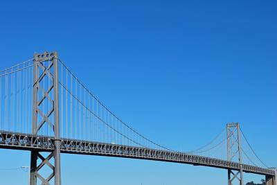 Photograph - San Francisco - Oakland Bay Bridge - Southern View by Matt Harang