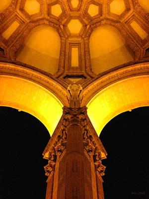 Bay Area Digital Art - San Francisco Palace Of Legion Of Arts.  by Mia DeBolt