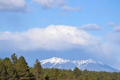 Photograph - San Francisco Peaks Arizona by rd Erickson