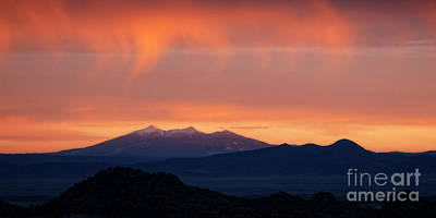 Photograph - San Francisco Peaks by Scott Kemper