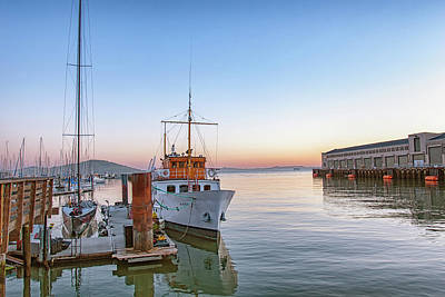 Photograph - San Francisco - Pier 39 by Philip Rodgers